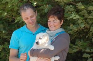 Wim en Ann met Wytse